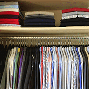 image of closet